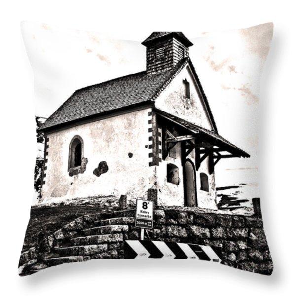 Tornante 8 ... Throw Pillow by Juergen Weiss