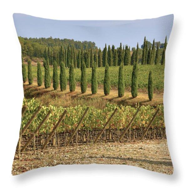 Toscana Throw Pillow by Joana Kruse