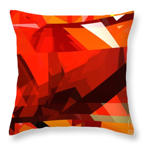 Tower Series 14l Throw Pillow by Russell Kightley