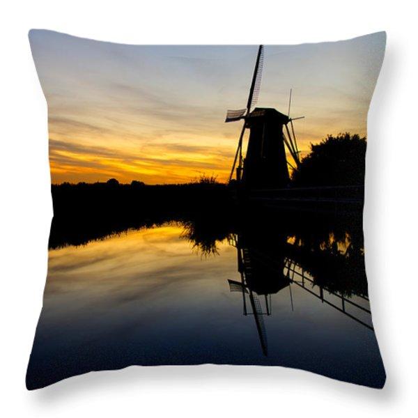Traditional Dutch Throw Pillow by Chad Dutson