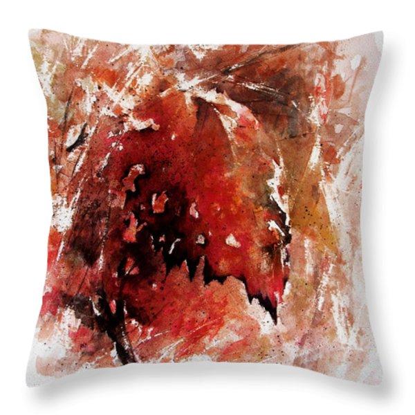 Transition Throw Pillow by Rachel Christine Nowicki