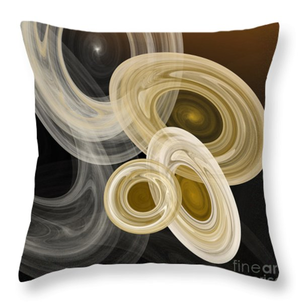 Travel In Time To 1969 Dodging Debris Throw Pillow by Andee Design