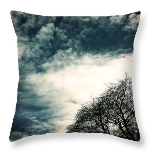 Tree Crown Throw Pillow by Joana Kruse