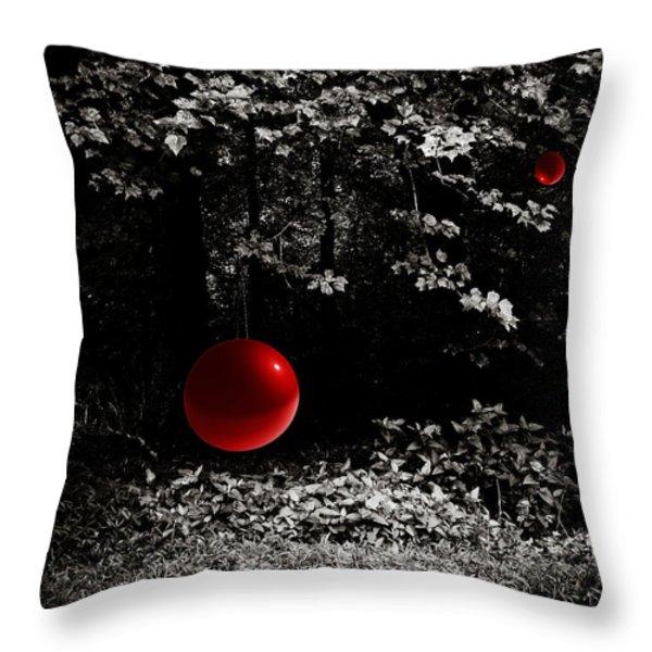 Tree of Knowledge Throw Pillow by Jessica Brawley