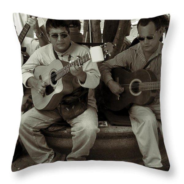Trio Throw Pillow by RicardMN Photography