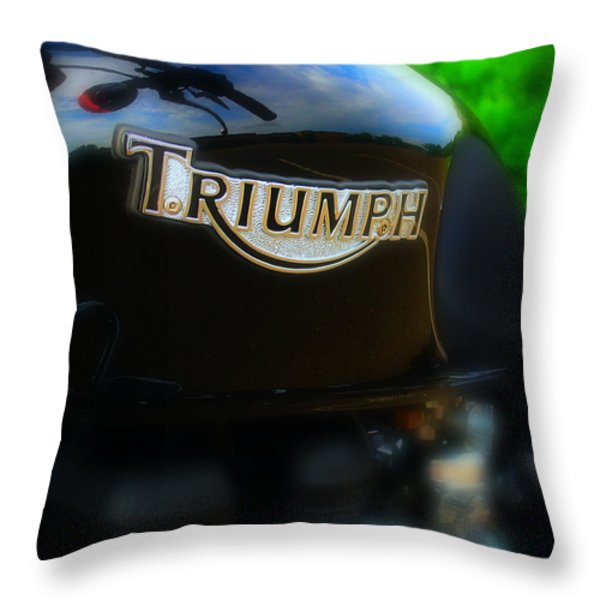Triumph Throw Pillow by Perry Webster