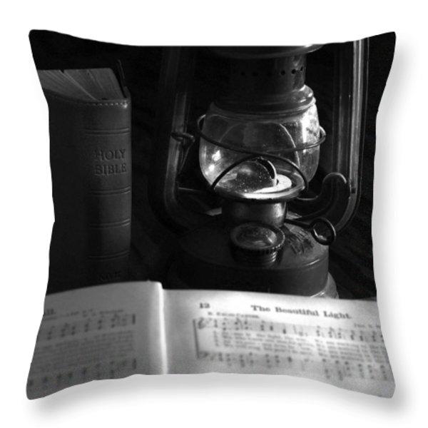True Light Throw Pillow by Michael Peychich