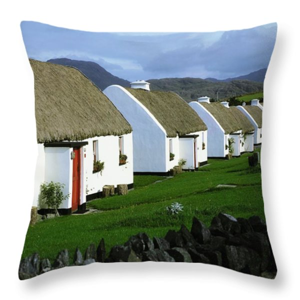 Tullycross, Co Galway, Ireland Holiday Throw Pillow by The Irish Image Collection