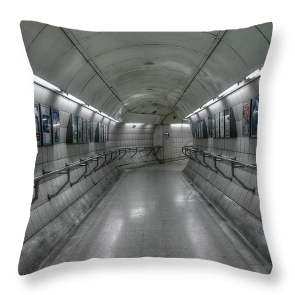 Tunnel Throw Pillow by Svetlana Sewell