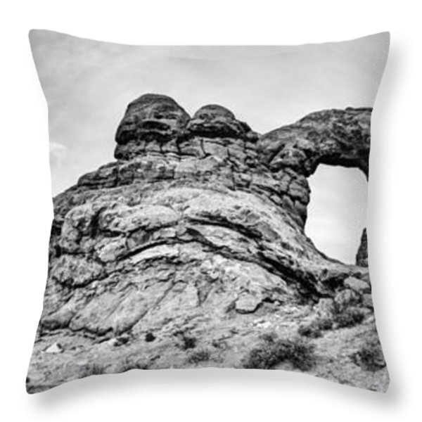 Turret Pano Throw Pillow by Chad Dutson