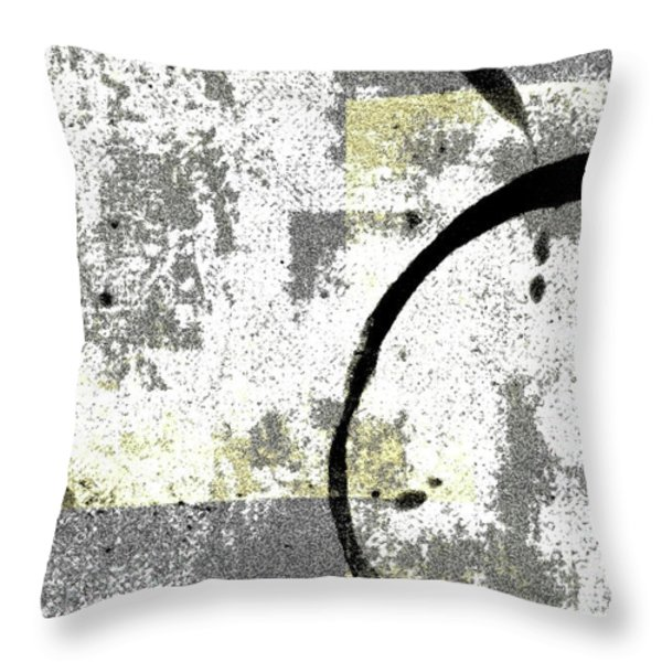 Twins Throw Pillow by Julie Niemela