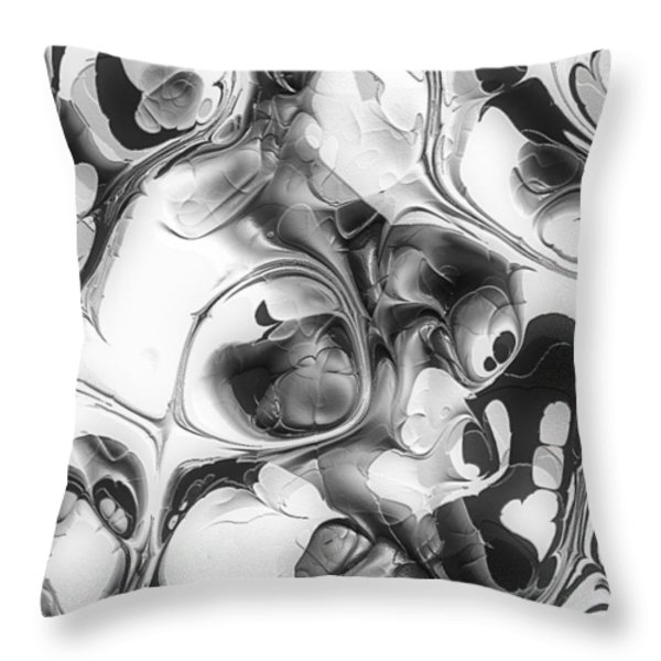 Twist and Turn Throw Pillow by Jack Zulli