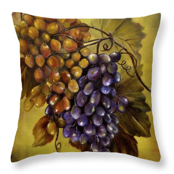Two choices Throw Pillow by Carol Sweetwood