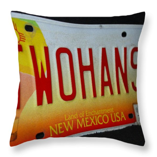 Two Hans Throw Pillow by Rob Hans