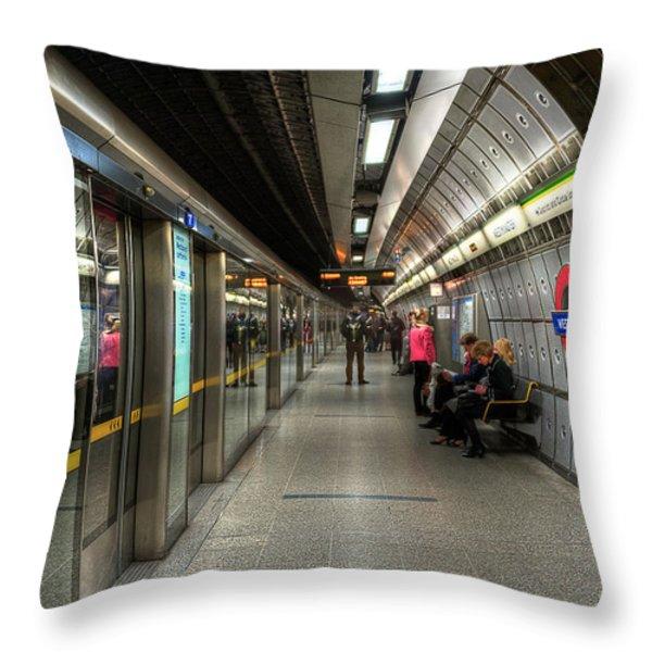 Underground Life Throw Pillow by Svetlana Sewell
