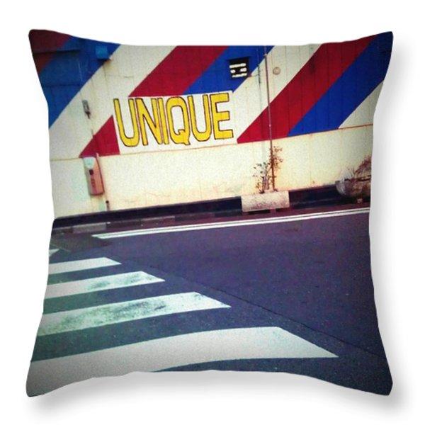 Unique Throw Pillow by Eena Bo
