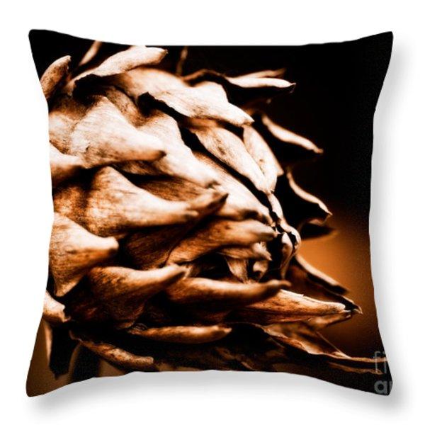 Unrestrained Throw Pillow by Venetta Archer