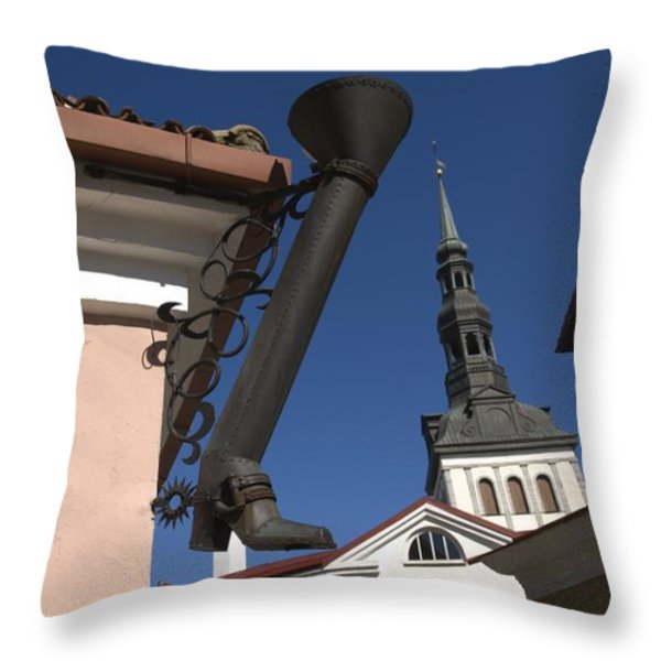 Untitled Throw Pillow by Keenpress