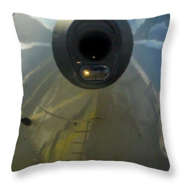 Unusual Approach 1 Throw Pillow by Ausra Paulauskaite
