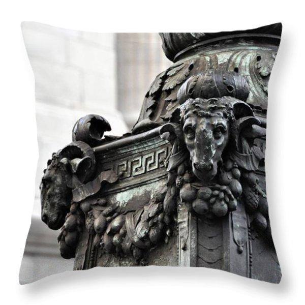 Upper Terrace Throw Pillow by JAMART Photography