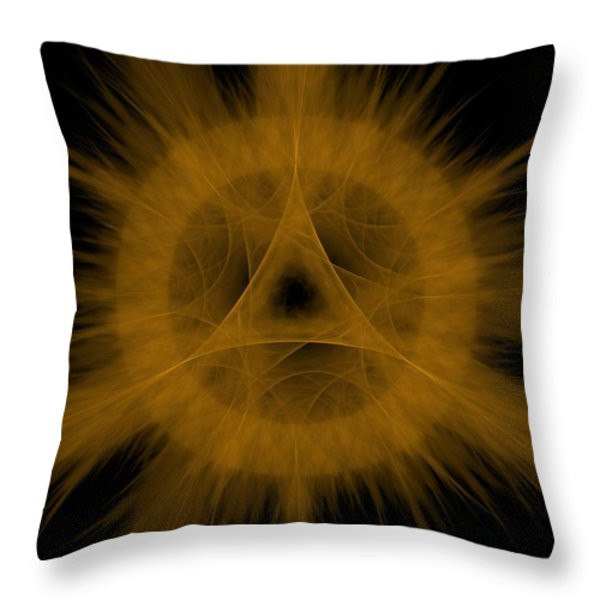 Vanquishing Arcane Throw Pillow by Ester  Rogers