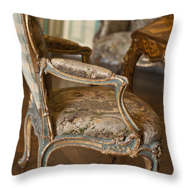 Very elegant. Very Marie Antoinette. Throw Pillow by Nomad Art And  Design