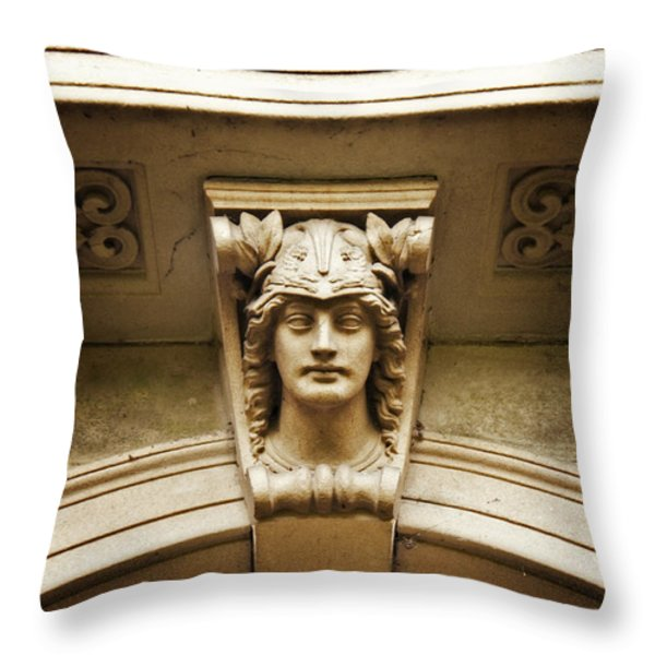 Very Roman Throw Pillow by Meirion Matthias