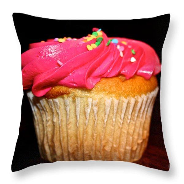 Vibrant Veggie Free Throw Pillow by Susan Herber