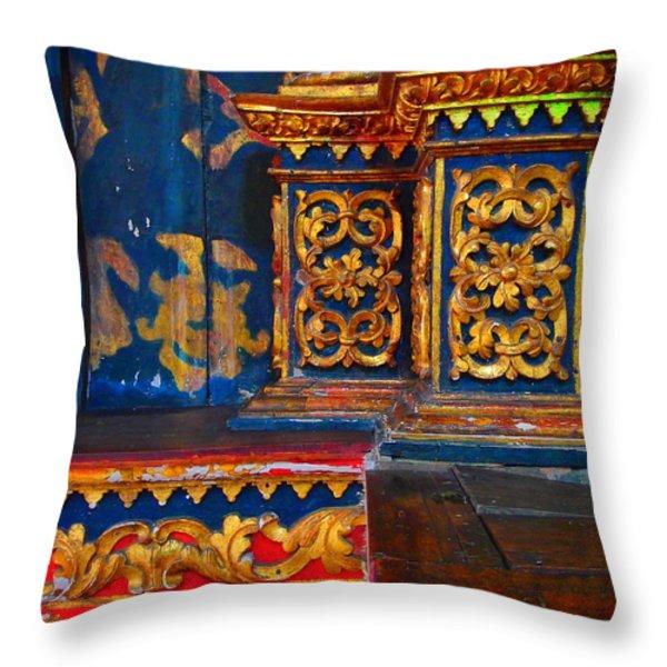 Viejo Throw Pillow by Skip Hunt