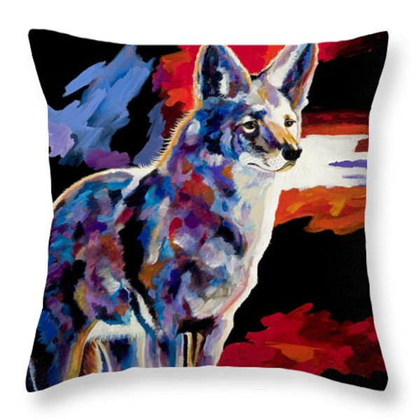 Vigilant Throw Pillow by Bob Coonts