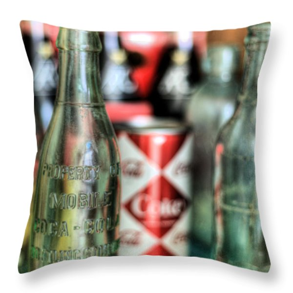 Vintage Chic Throw Pillow by JC Findley