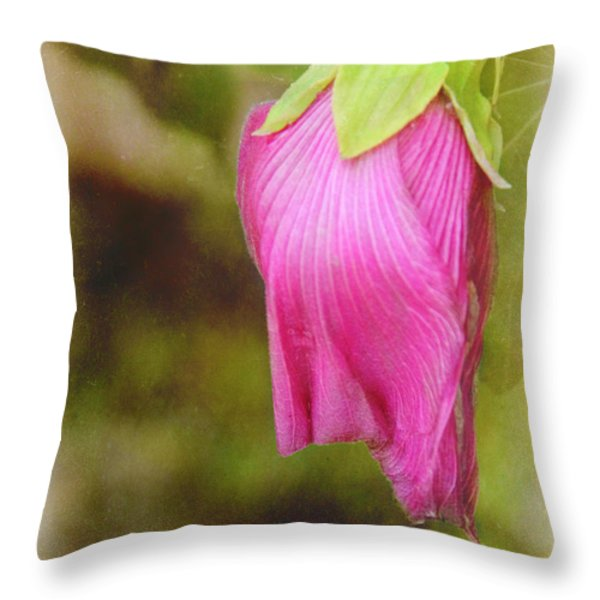 Vintage Pendant Throw Pillow by Judi Bagwell