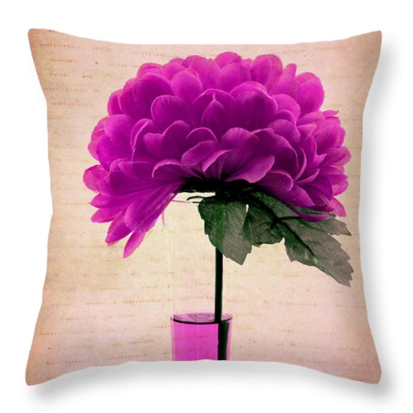Violine Throw Pillow by Aimelle