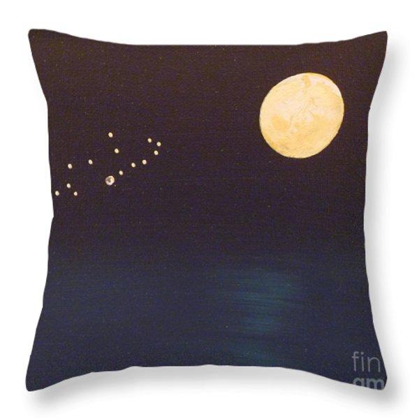 Virgo Throw Pillow by Alys Caviness-Gober