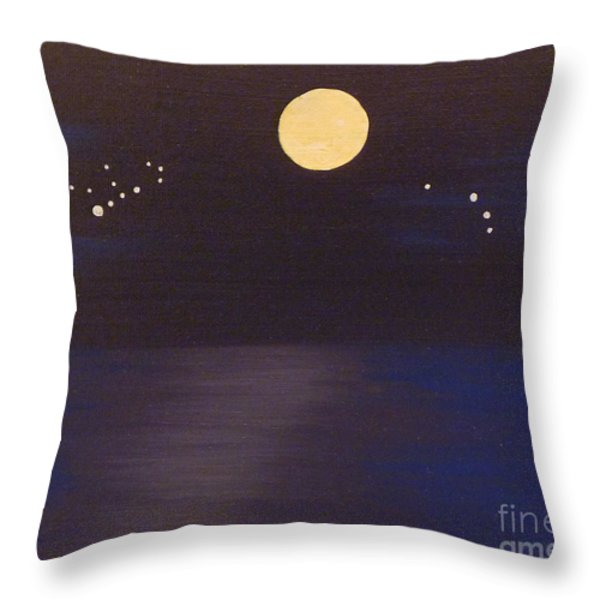 Virgo and Aries Throw Pillow by Alys Caviness-Gober