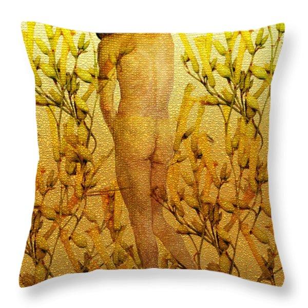 Vital Solitude Throw Pillow by Kurt Van Wagner