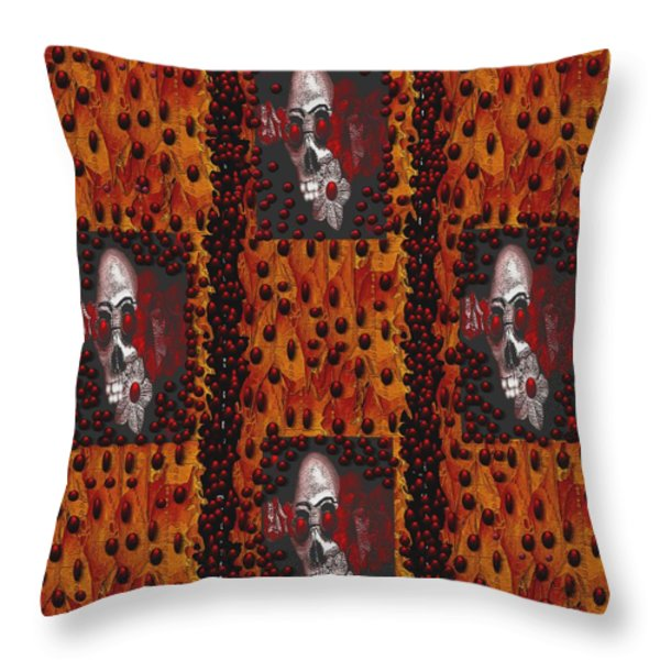 Viva La Revolution Throw Pillow by Pepita Selles
