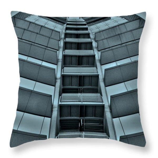 W Barcelona Throw Pillow by Juergen Weiss
