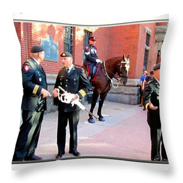 Waiting For The Prince Edwards Throw Pillow by Danielle  Parent