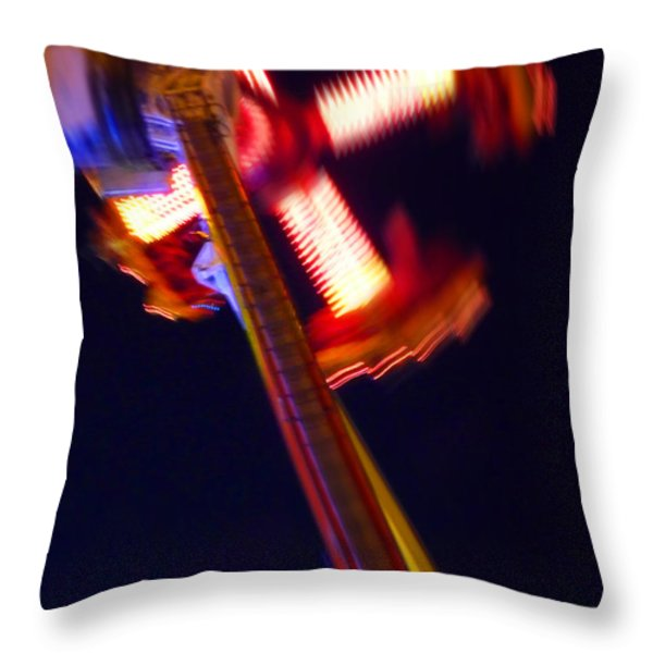 Walker Throw Pillow by Charles Stuart