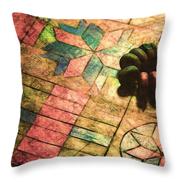 War Games Throw Pillow by Judi Bagwell