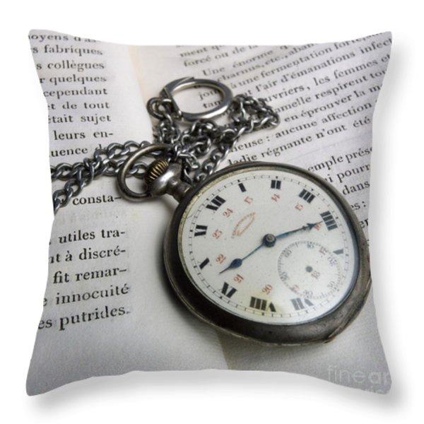 Watche Throw Pillow by BERNARD JAUBERT