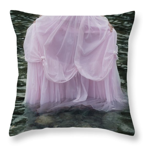 Water Bride Throw Pillow by Joana Kruse