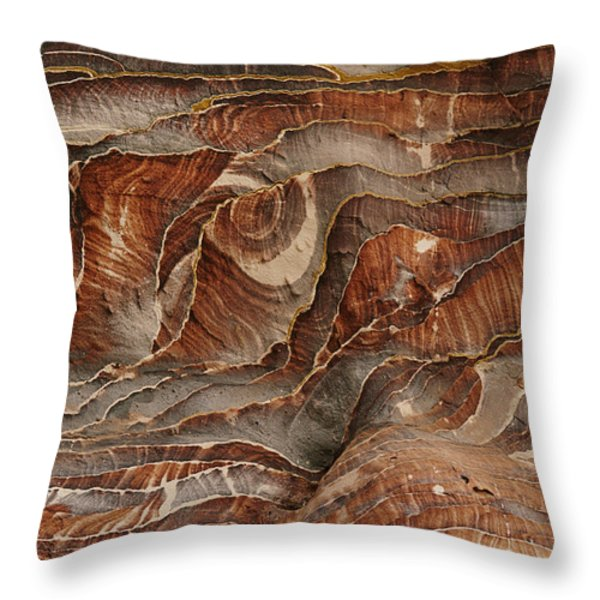 Waves Of Natural Color, Ranging Throw Pillow by Annie Griffiths