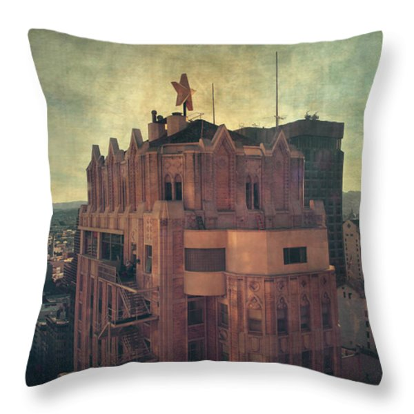 We Are All Made Of Stars Throw Pillow by Laurie Search