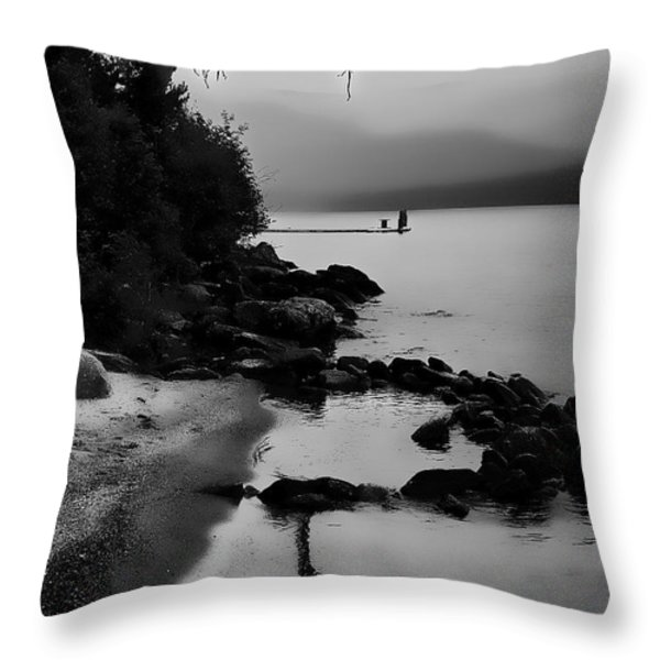 Weathered Throw Pillow by David Patterson