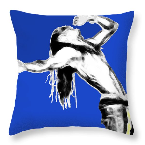 Weezy F. Baby Throw Pillow by Cheryl Young