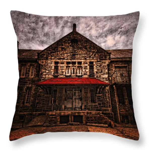 Welcome Throw Pillow by Andrew Paranavitana