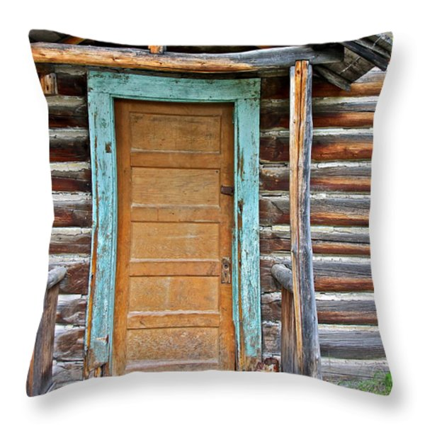 Welcome Sight For Weary Travelers Throw Pillow by Karon Melillo DeVega