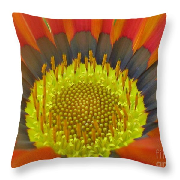 Well-disposed Throw Pillow by Tina Marie